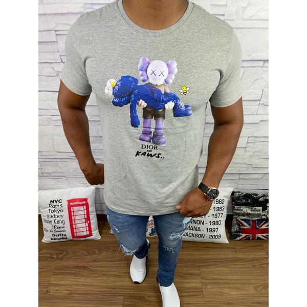 Camiseta Dior - Cinza