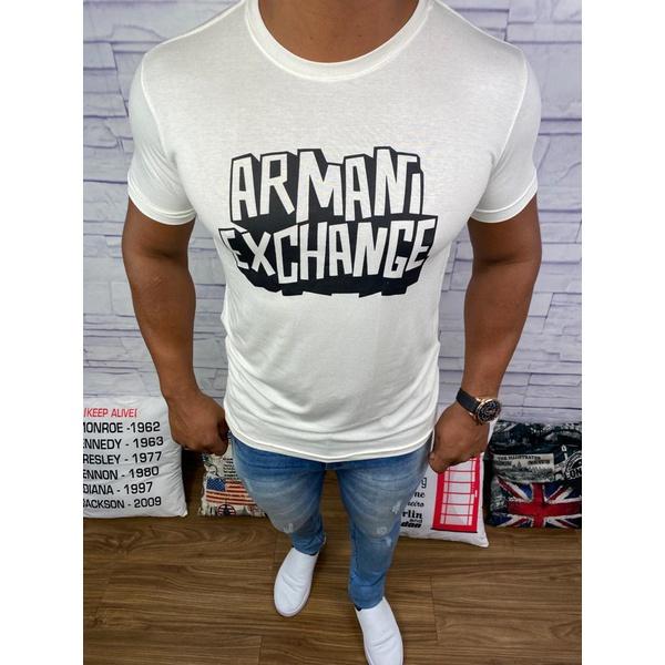 Camiseta Armani Creme⭐