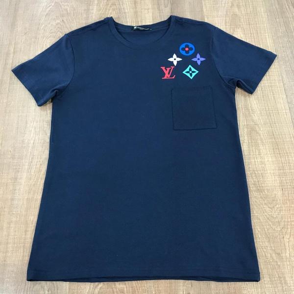 Camiseta Louis Vuitton Marinho