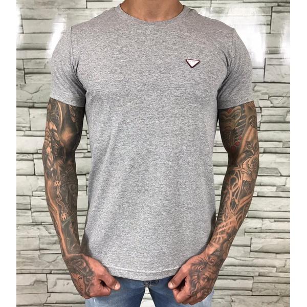 Camiseta Prada Cinza