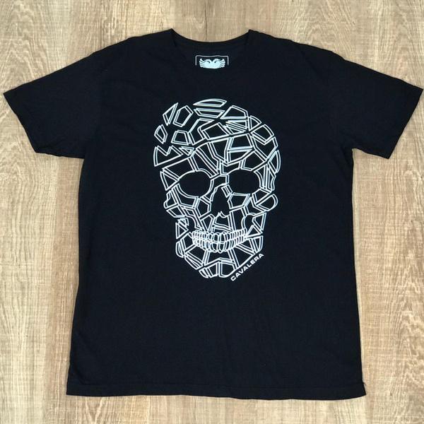 Camiseta Cavalera Preto⭐