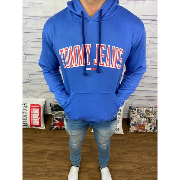 Blusa de Frio Tommy - Azul Bic