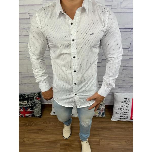 Camisa Manga Longa Armani⭐