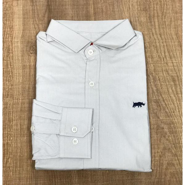 Camisa Manga Longa DG Cinza