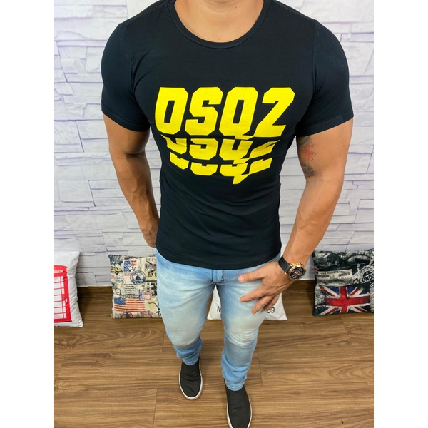 Camiseta Dsquared2 Preto