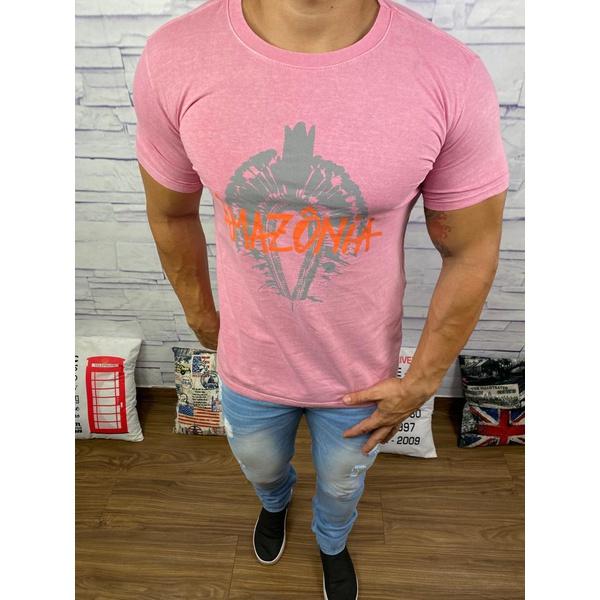 Camiseta Osk Rosa