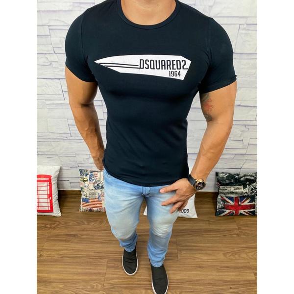Camiseta Dsquared2 Preto