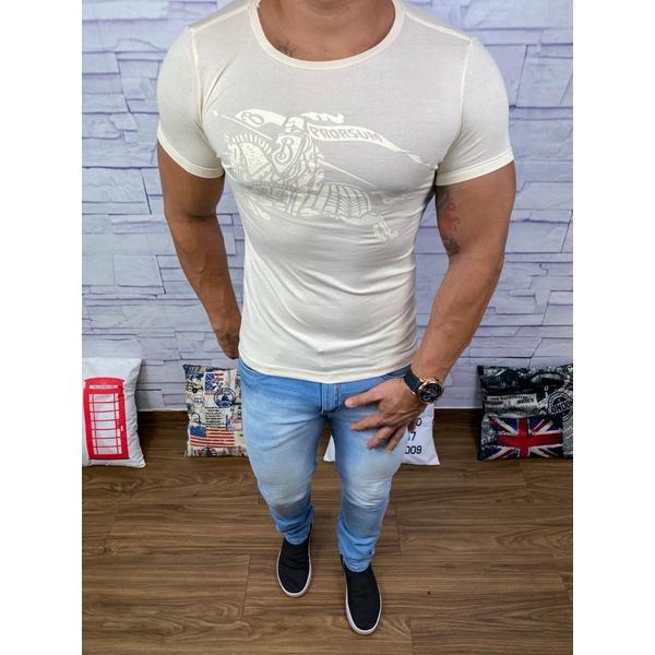 Camiseta Burberry Creme⭐