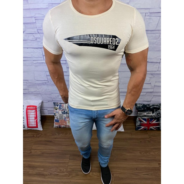Camiseta Dsquared2 Creme