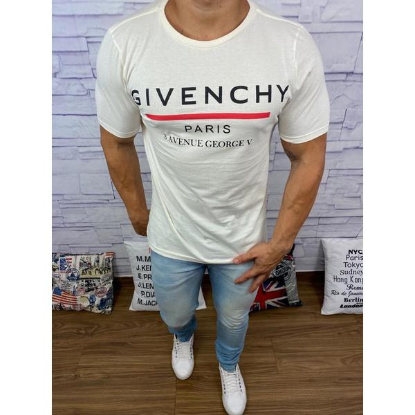 Camisetas Givenchy Branco