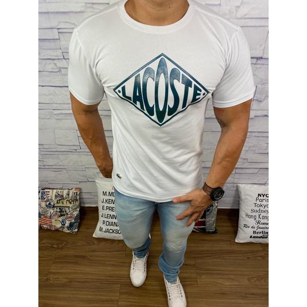Camiseta Lacoste DFC Branco