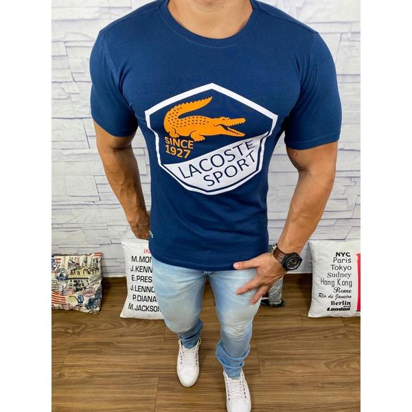 Camiseta Lacoste DFC Azul Marinho