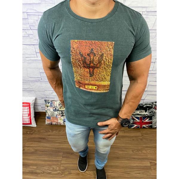 Camiseta Osk Verde