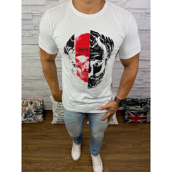 Camiseta Cavalera Branco