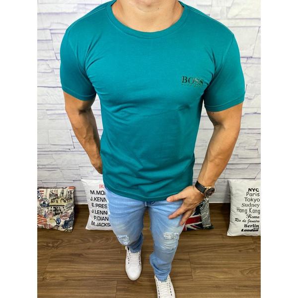 Camiseta Hugo Boss Verde Escuro