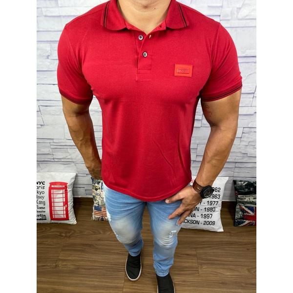 Polo Dolce Gabbana Vermelho