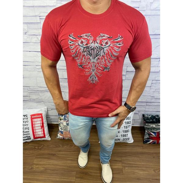 Camiseta Cavalera Vermelho