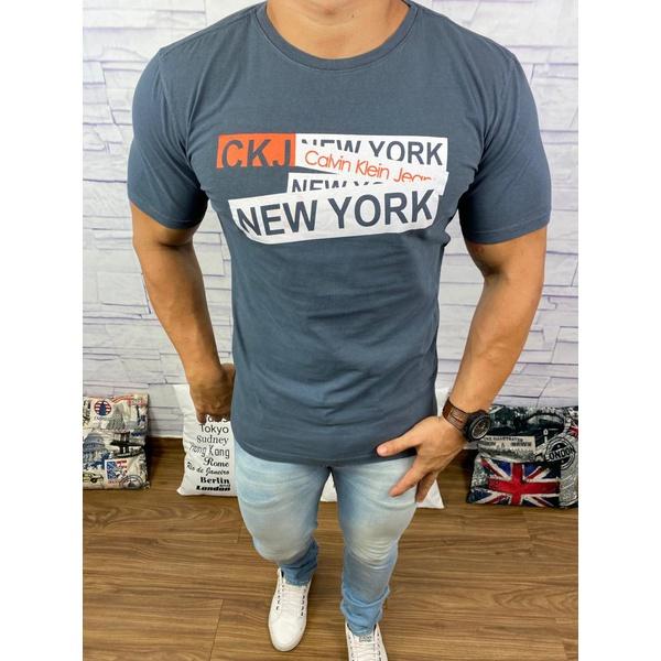 Camiseta Ck Grafite ⭐