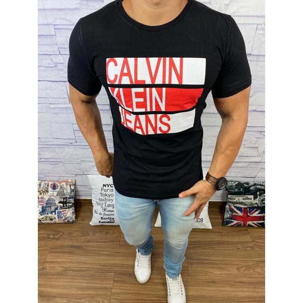 Camiseta Calvin Klein Black