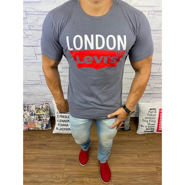 Camisetas Levi's Cinza Escuro