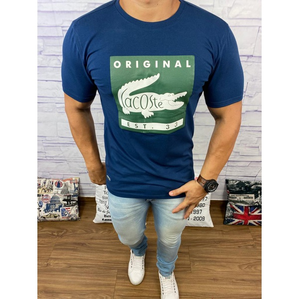 Camiseta LCT DFC Azul Marinho⭐