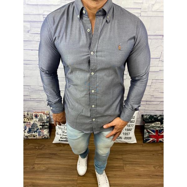 Camisa Manga Longa RL DFC Chumbo