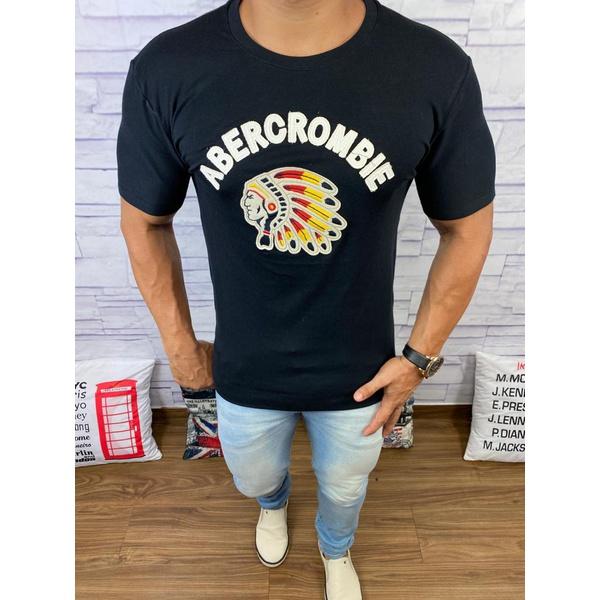 Camiseta Abercrombie Preto