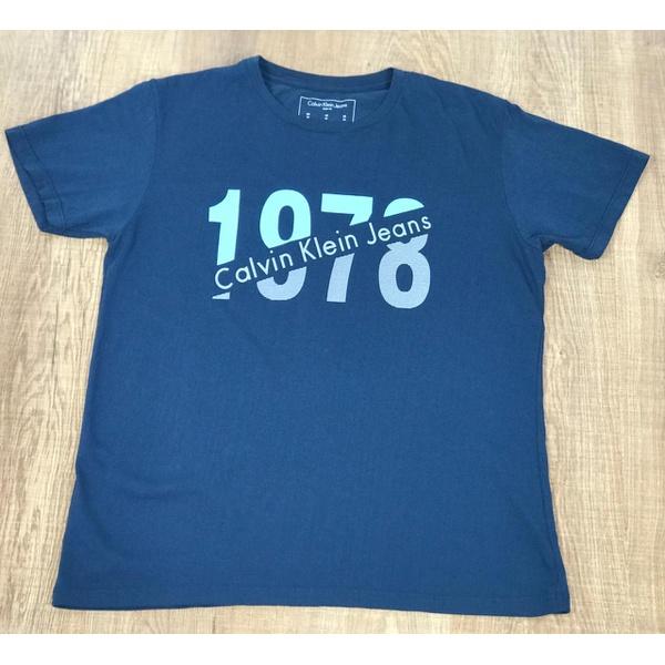 Camisetas CK Azul