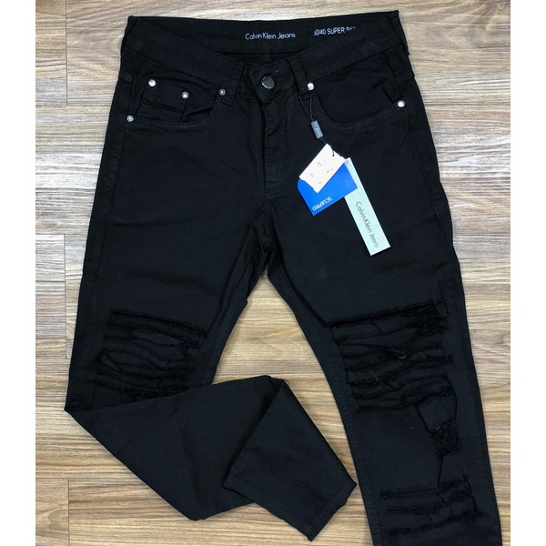 Calça Jeans Calvin Klein - Rasgada⭐