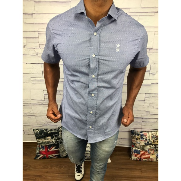 Camisa Manga Curta Sergio K⭐