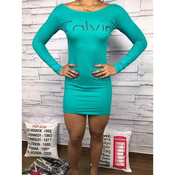 Vestido Calvin Klein - Verde