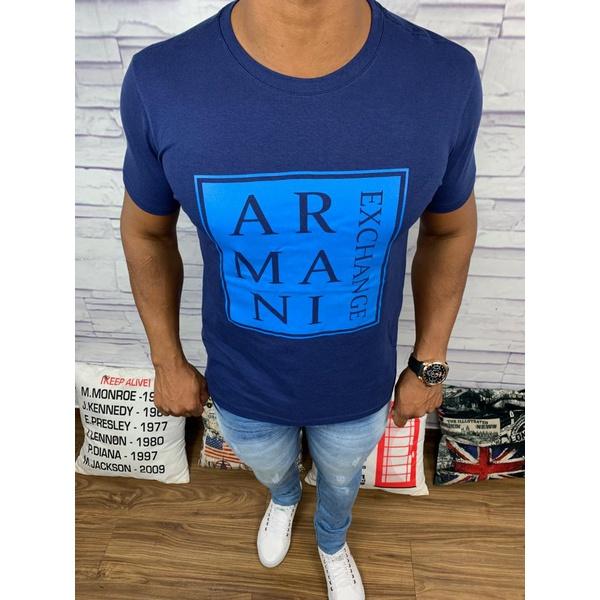 Camiseta Armani - Azul