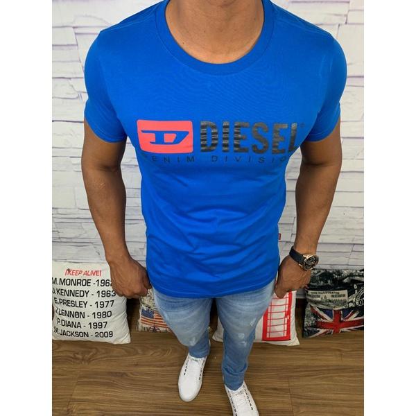 Camiseta Diesel - Azul