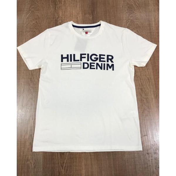 Camiseta TH - Creme