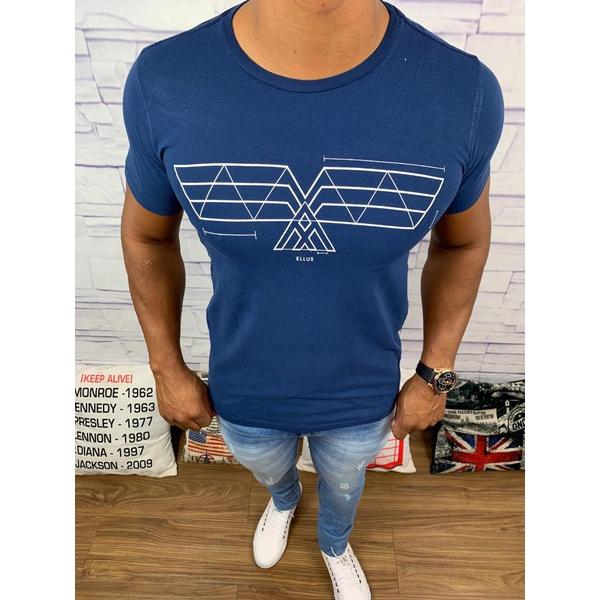 Camiseta Ellus - Azul Marinho