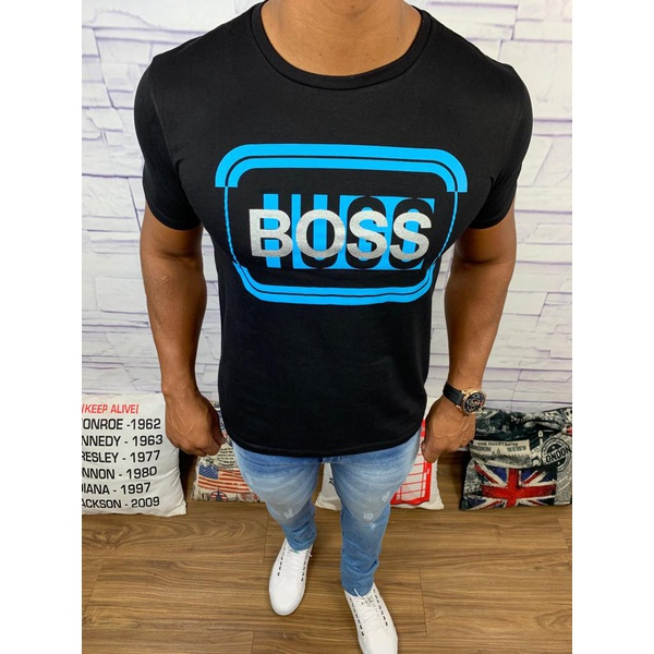 Camiseta Hugo Boss Preta