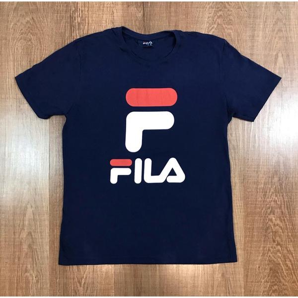 Camiseta Fila - Azul Marinho ⭐