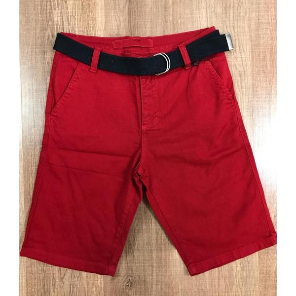 Bermuda Sarja Rv - Vermelha