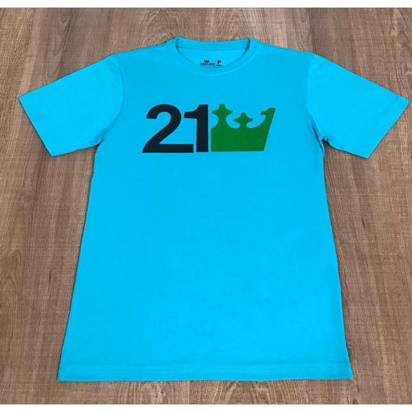 Camiseta Osk - Azul Bic