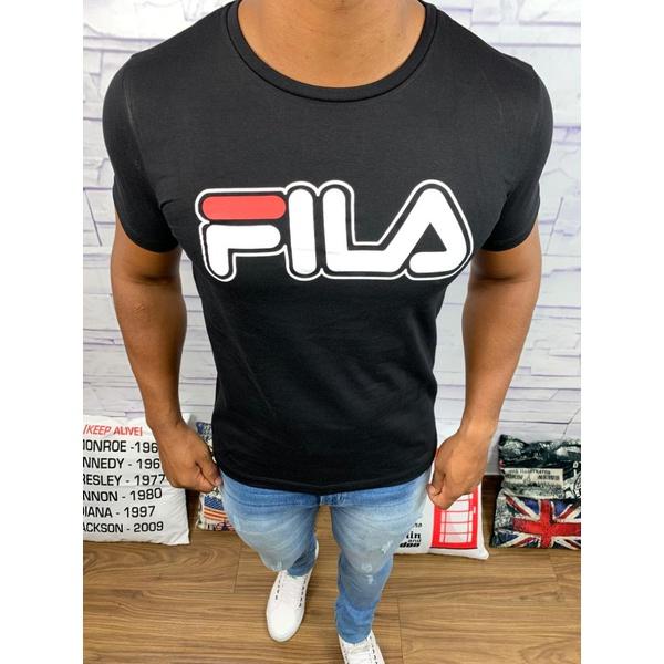 Camiseta Fila - Preta