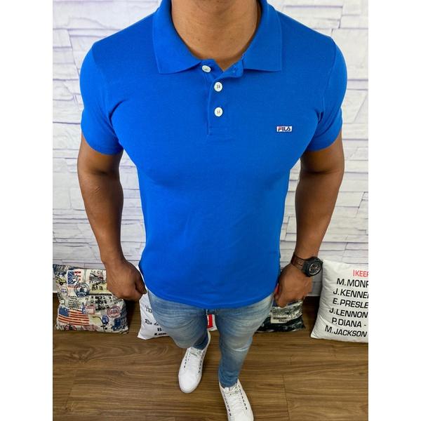 Polo Fila - Azul