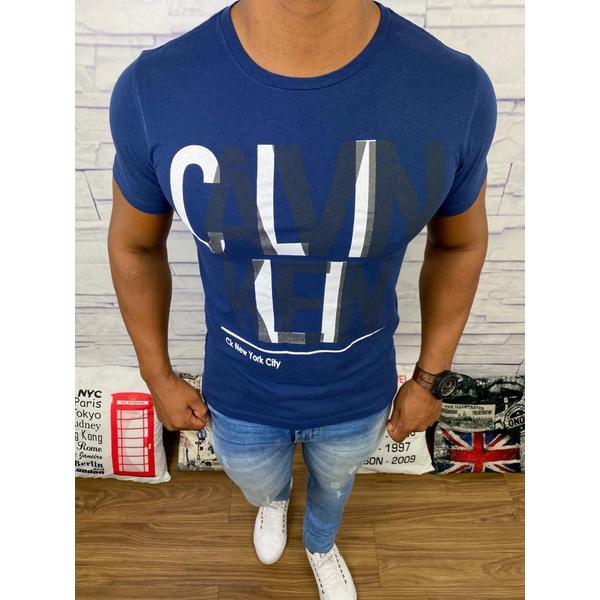 Camiseta Calvin Klein - Azul Marinho