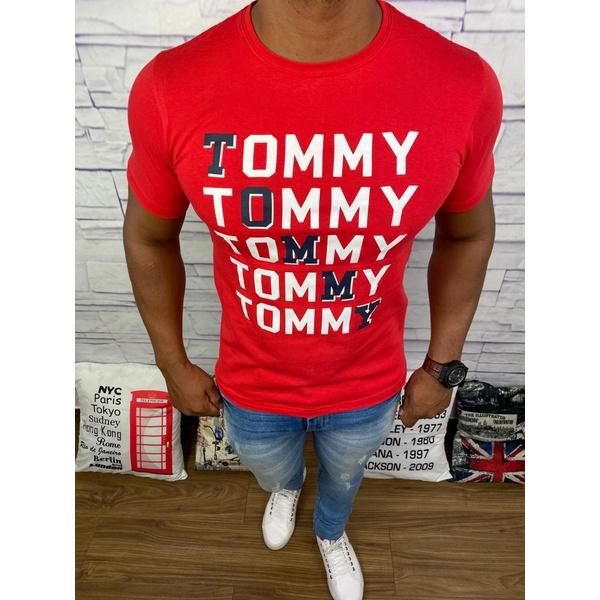 Camiseta Tommy Hilfiger - Vermelha