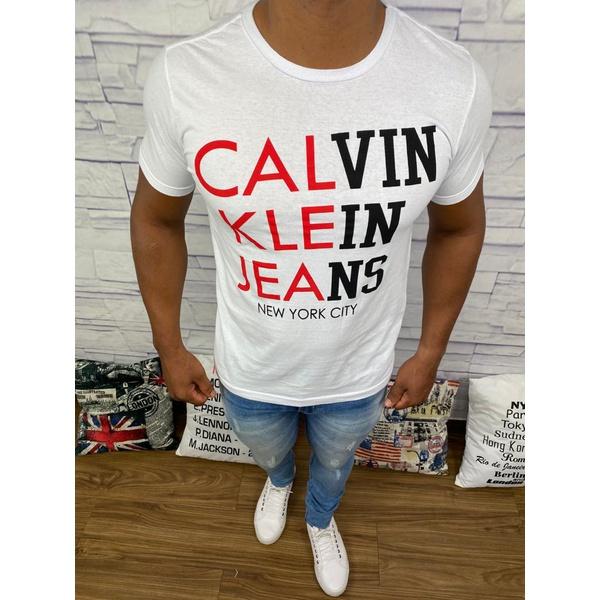 Camiseta Calvin Klein - Branca⭐