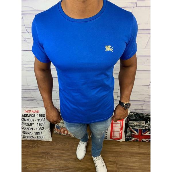 Camiseta Burberry - Azul Bic