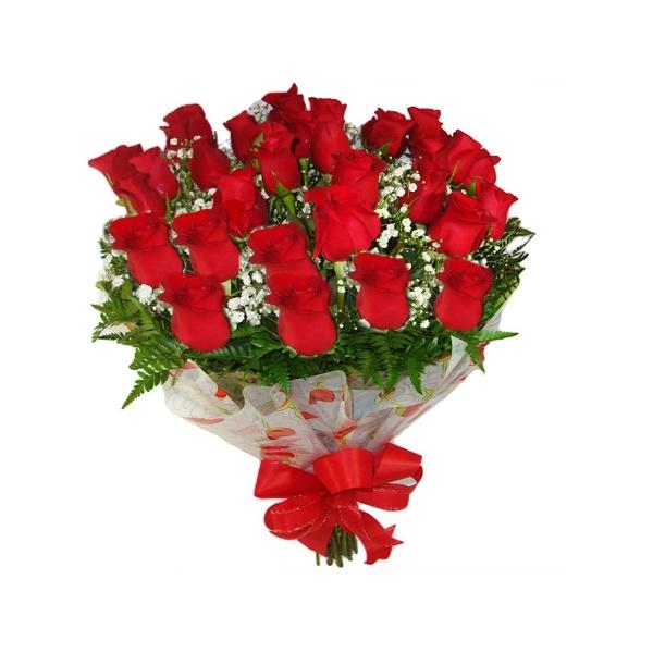 Buquê 24 Rosas Red