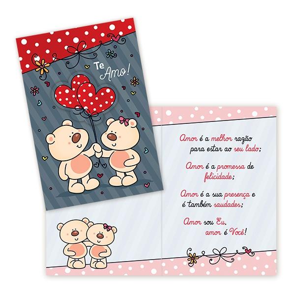 Cartão Te Amo!