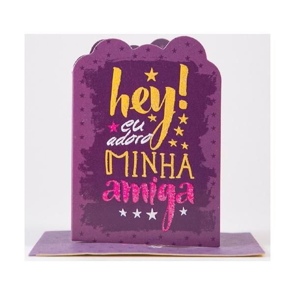 Cartão Hey amiga
