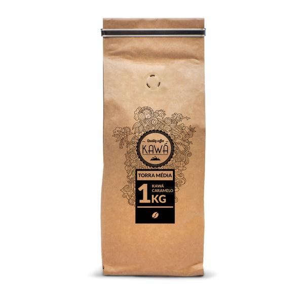 Pacote 1kg - Café Kawá Caramelo
