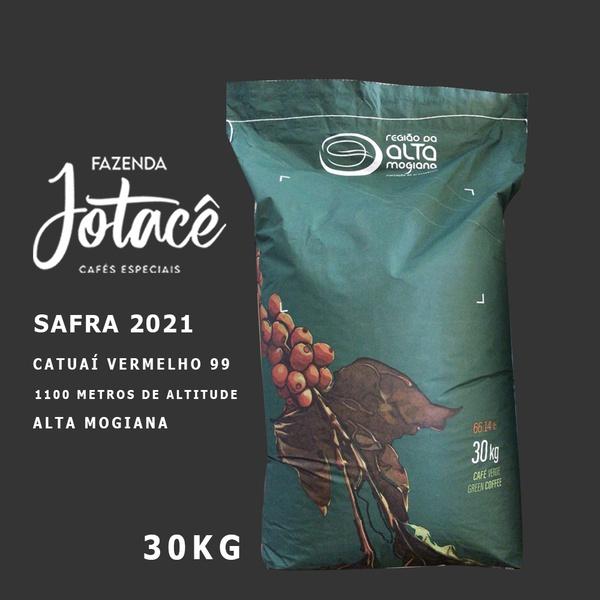 Saca de café cru 30kg - Arábica